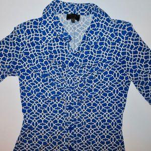 Laundry By Shelli Segal Shirt Dress Size 4
